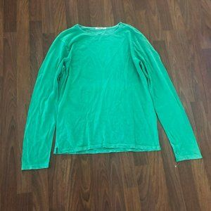 Cotton Citizen Washed Green Tee T-Shirt Top M SWOT